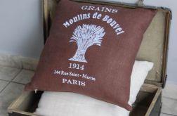 Poduszki w stylu vintage - wersja brązowa