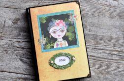Kalendarz książkowy A5 układ dzienny 2020 #6