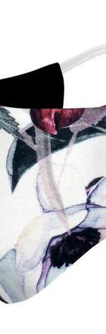wielorazowa maska bawełniana we wzory