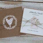Oryginalna kartka ślubna i pudełko 4 - kartka na ślub