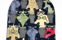 Czapka w koty rozmiar 48-58 (5-10lat)