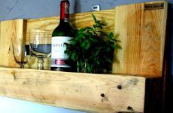 Półka Stojak na wino, przyprawy, zioła