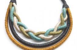 Naszyjnik bawełniane liny Miyagi