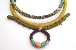 Naszyjnik bawełniane liny Katis