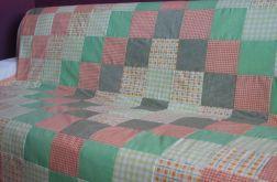 narzuta patchwork pastelowa