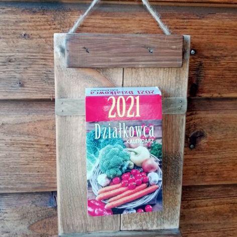 Organizer - deseczka z kalendarzem