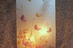 Lampion- pastelowa łąka