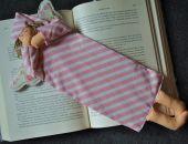 Zakładka do książki - anioł różowy