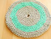 Dywan okrągły sznurek 100cm