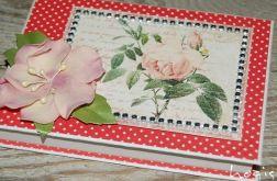 Hogisowy notesik z różą