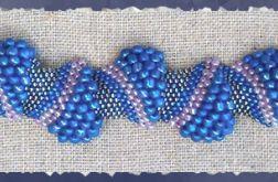 bransoletka niebieska