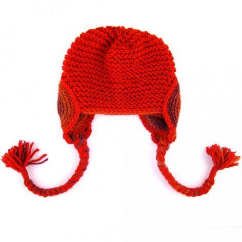 Czerwony Kapturek z warkoczami:)