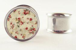 Na zamówienie : Plug floral kwiaty 14mm