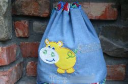 Worek dla dziecka - Hipopotam 2