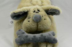 Poduszka -pies z pluszu