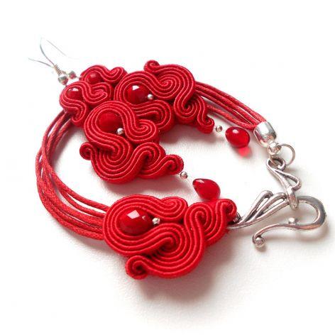 komplecik czerwony