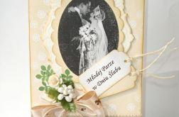Młodej Parze - romantyczna kartka