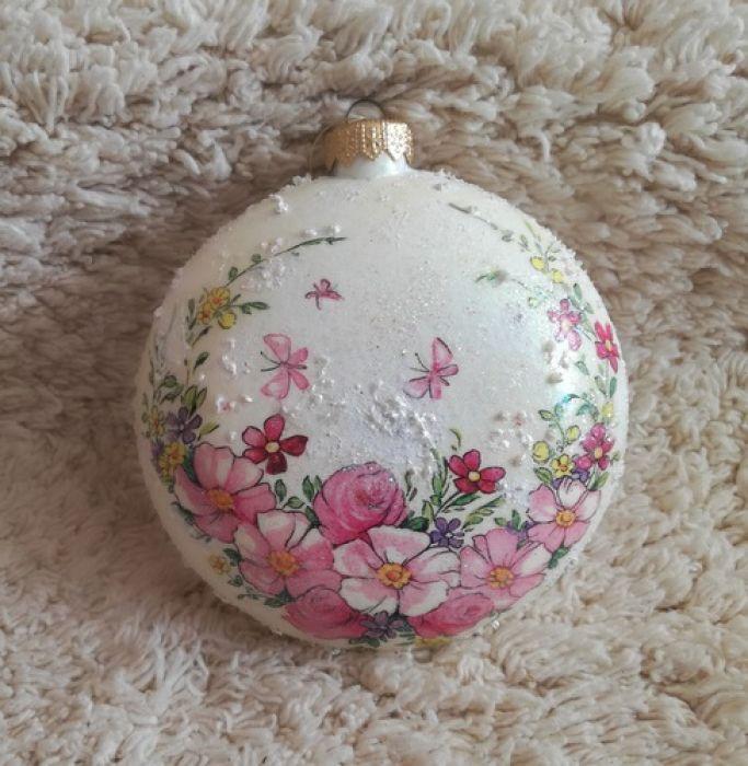 Bombka - medalion bożonarodzeniowy