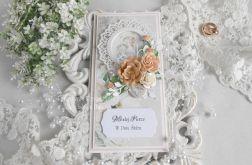 Ślubna kartka DL w pudełku 72