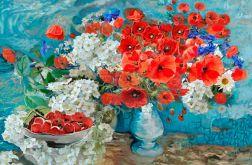 Obraz Maki dla Vincenta van Gogha 120 x 80 cm