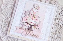 Kartka ślubna z tortem Marry Me GOTOWA