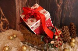 Świąteczne pudełko na upominek #4