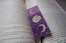 Zakładka do książki fazy księżyca