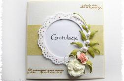 GRATULACJE - kartka gratulacyjna