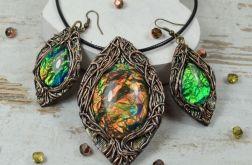 """Komplet biżuterii """"magiczne drzewo"""""""