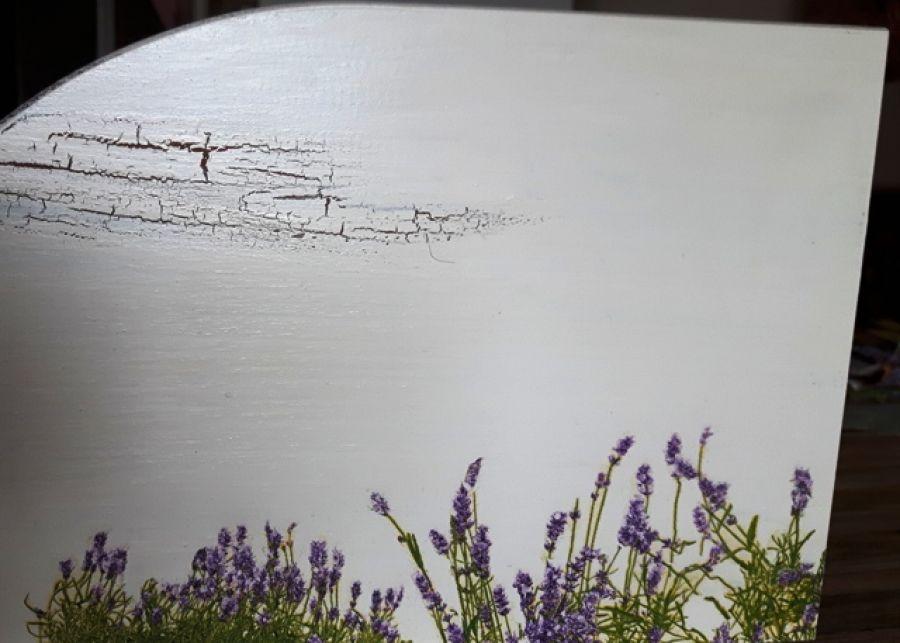 Chlebak duży lawendowa łąka 3b