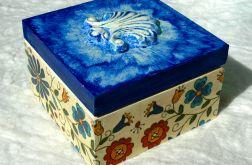 Pudełko kaszubskie z muszlą