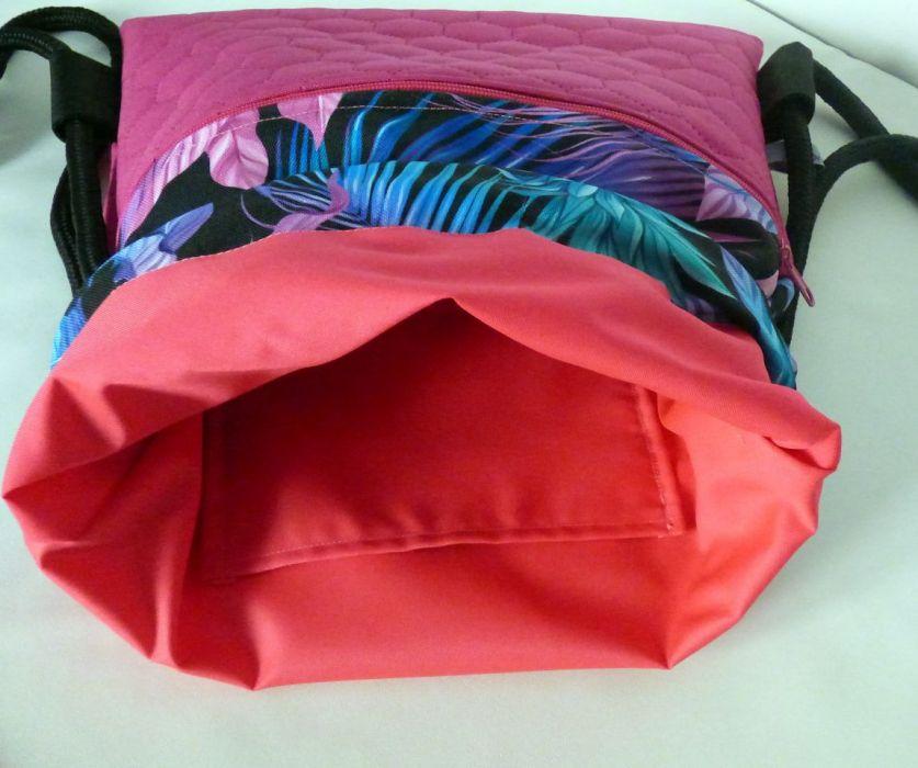 Worek /plecak Workoplecak Liście