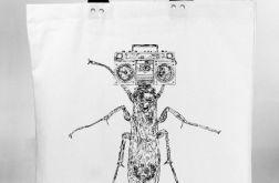 Insektofon - torba bawełniana z nadrukiem
