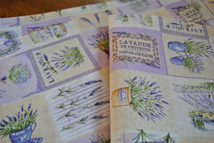 6 podkładek pod talerze - Lato w Prowansji