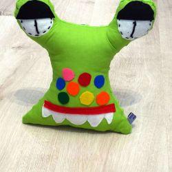 Przytulaśny Stworek Zielony żabuś