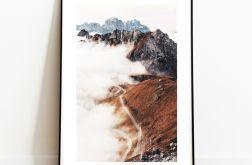 Plakat Góry Chmury Droga 01