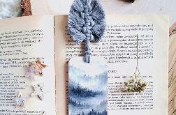 Zakładka do książki we mgle