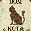 Zawieszka Tabliczka Cytaty Napisy Kot